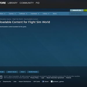 Flight Sim World No DLC