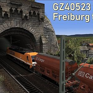GZ40523 from Freiburg to Basel