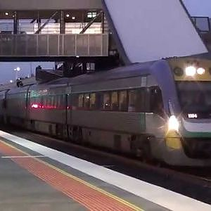 Regional Rail Link: The first trains - YouTube